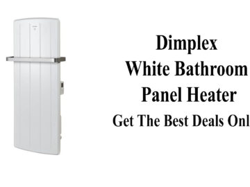Dimplex White Bathroom Panel Heater